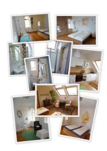 Bilder-Collage-Gästezimmer